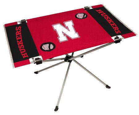NCAA Nebraska Cornhuskers Endzone Table