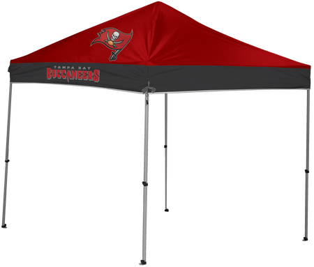 NFL Tampa Bay Buccaneers 9x9 shelter with 4 team logos