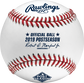 ROMLBPS19 MLB 2019 Post Season baseball with the official logo and commissioner's signature image number null