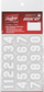 Number stickers for a Mets sticker kit image number null