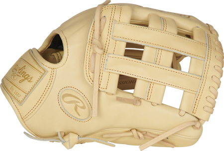 Thumb of a camel PROKB17-6C Heart of the Hide Pro Label 12.25-Inch glove with a camel H-web