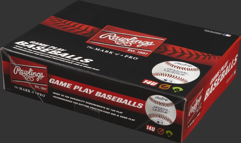 Youth 14U Game Play Baseballs