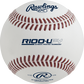 R100-UPY Ultimate Practice Technology youth baseball with raised, molded seams image number null