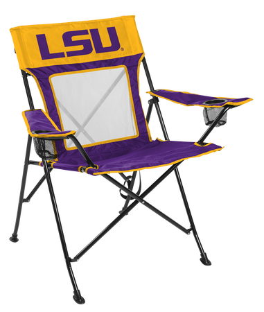 NCAA LSU Tigers Game Changer chair with the team logo