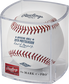 ROMLBPS19 2019 MLB Post Season ball in a display case image number null
