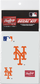 A New York Mets replica decal kit image number null