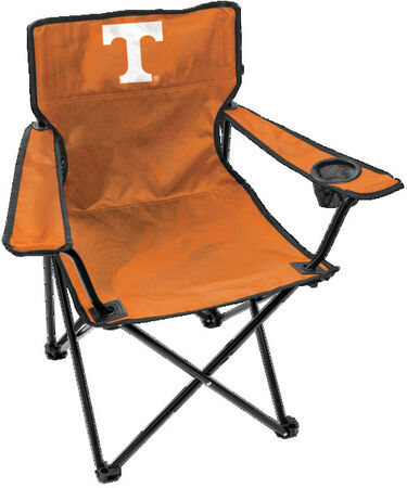 Front of Rawlings Orange NCAA Tennessee Volunteers Gameday Elite Chair With Team Logo #00563101111