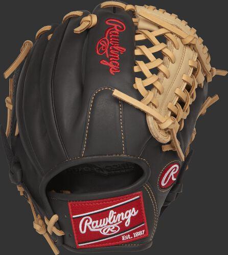 GXLE204-4DSC 11.5-inch Gamer XLE infield/pitcher's glove with a dark shadow back