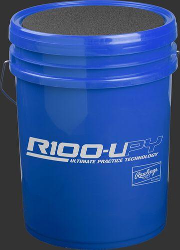 R100UPYBUCK24 Blue bucket of youth Ultimate Practice Technology baseballs