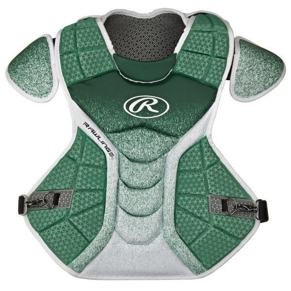 Velo Intermediate Chest Protector Dark Green/White