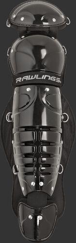 Black LGPLI Players Series intermediate 11.5-inch leg guards