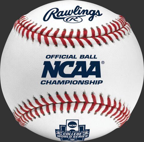FSR1NCAA-CWS Official 2019 NCAA Championship Baseball with the CWS logo