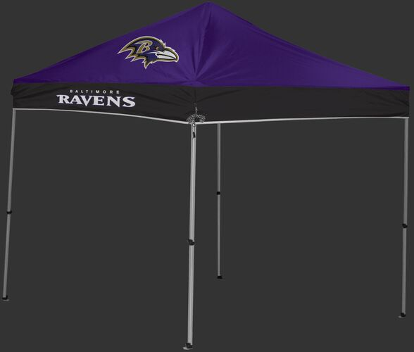 Rawlings Purple and Black NFL Baltimore Ravens 9x9 Canopy Shelter With Team Logo and Name SKU #03231092111