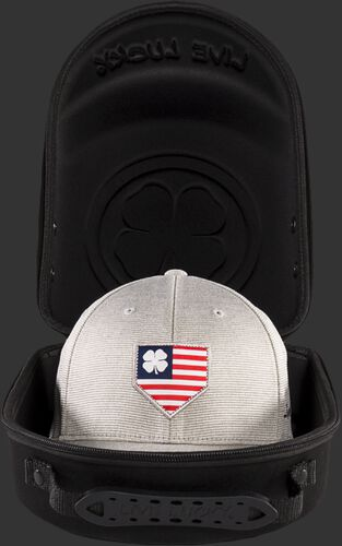 Inside View Of Rawlings Black Clover Special Edition Hat Caddie - SKU #RBCCAD