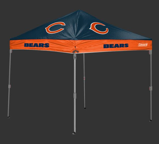 Rawlings Navy and Orange NFL Chicago Bears 10x10 Canopy Shelter With Team Logo and Name SKU #03221062111