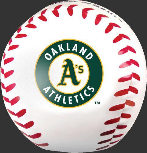 MLB Oakland Athletics Big Boy 8 in Softee Baseball