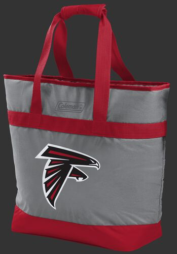 Rawlings Atlanta Falcons 30 Can Tote Cooler In Team Colors With Team Logo On Front SKU #07571060111