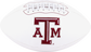 White NCAA Texas A&M Aggies Football With Team Logo SKU #05733061121 image number null