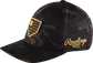 Rawlings Black Clover Camouflage Snapback Hat image number null