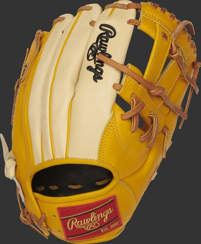 PRONP5-7GT 11.75-Inch Heart of the Hide V-web glove with a camel back
