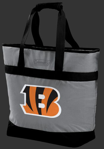 Rawlings Cincinnati Bengals 30 Can Tote Cooler In Team Colors With Team Logo On Front SKU #07571063111