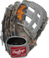 Camo mesh back of a Heart of the Hide Gameday 57 Trent Grisham H-web glove with a red Rawlings patch - SKU: RSGPRO3029-TG2 image number null