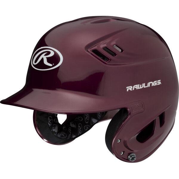 Velo Senior Batting Helmet Maroon
