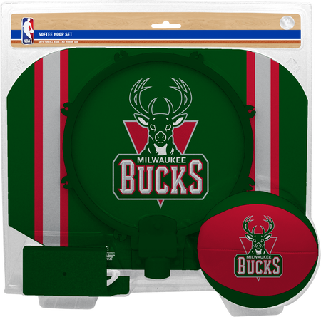 NBA Milwaukee Bucks Softee Hoop Set