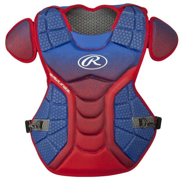 Velo Adult Chest Protector Royal/Scarlet