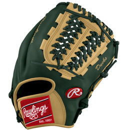 Green/Yellow Custom Glove