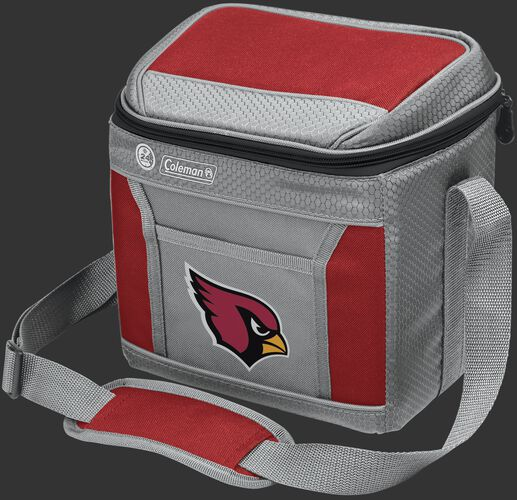 Rawlings Arizona Cardinals 9 Can Cooler In Team Colors With Team Logo On Front SKU #03281081111