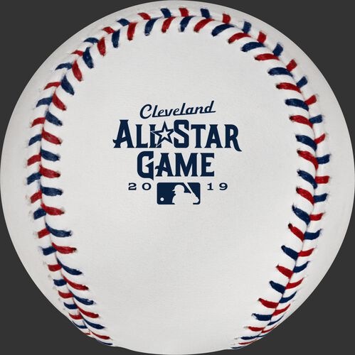 2019 MLB All-Star Game logo on the ASBB19 Official MLB All-Star Game baseball