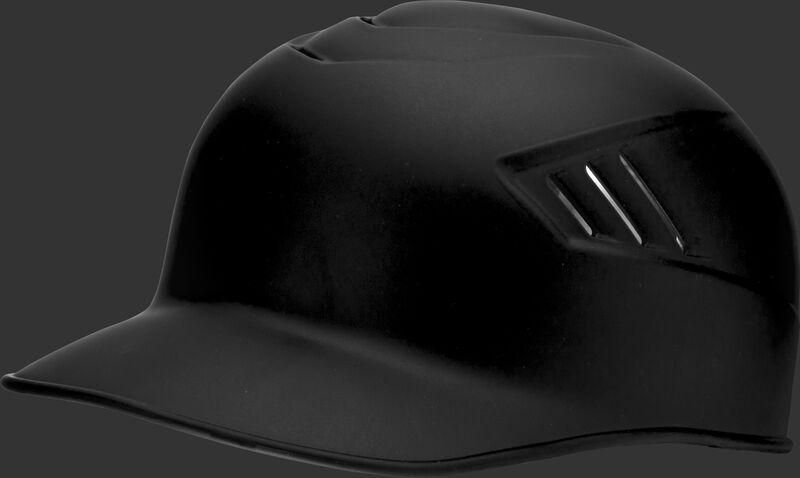 A matte black CFPBHM adult Coolflo base coach helmet