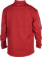 Back of a scarlet Rawlings mid weight Gold Collection jacket - SKU: GCMW2-S image number null