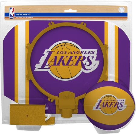 NBA Los Angeles Lakers Softee Hoop Set