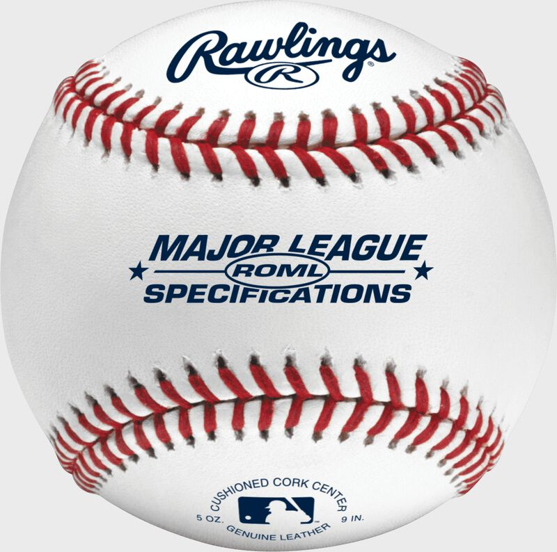 A Rawlings Major League specifaction baseball - SKU: ROML
