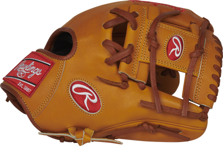 PROS204-2KRTP 11.5-inch Pro Preferred infield glove with a rich tan I-web and thumb