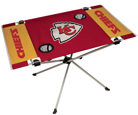 NFL Kansas City Chiefs Endzone Table
