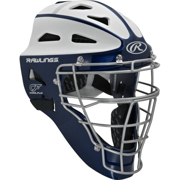 Velo Youth Softball Catchers Helmet Navy