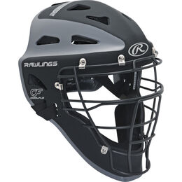 Velo Adult Catchers Helmet Black/Graphite