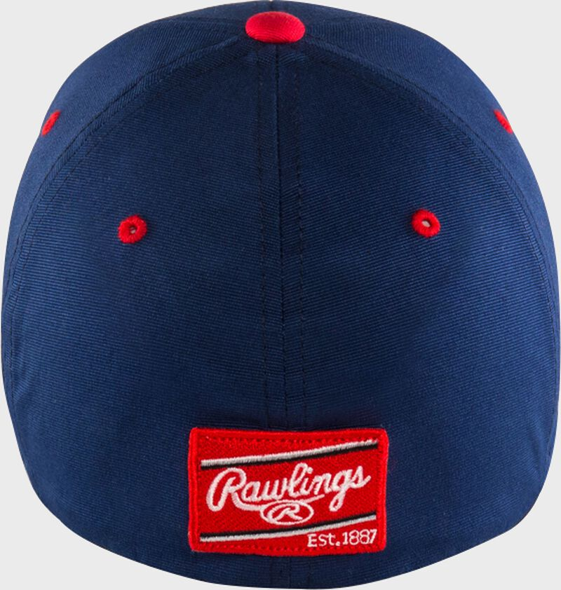 Rawlings Black Clover USA Fitted Hat