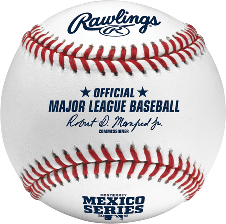 Official 2018 MLB® Mexico Series® On-Field Baseball