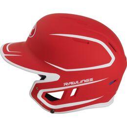 Mach Senior Two-Tone Matte Helmet Scarlet