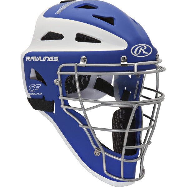 Velo Adult Catchers Helmet Royal/White