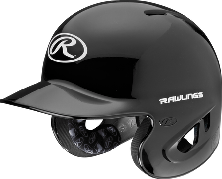 RPR High School/College Batting Helmet Black