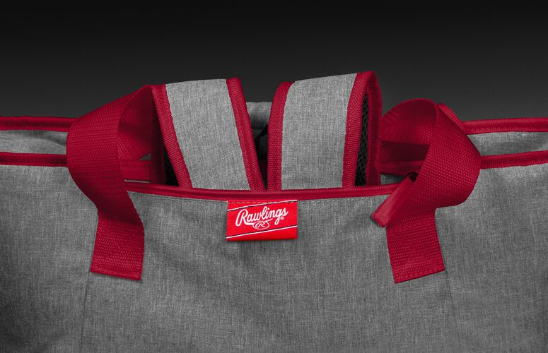 Hideaway backpack straps on a Kansas City Chiefs 30 can cooler - SKU: 10311071111