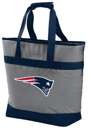 Rawlings New England Patriots 30 Can Tote Cooler In Team Colors With Team Logo On Front SKU #07571076111