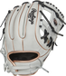 RLA715SB-2RG 11.75-inch Liberty Advanced I-web glove with a white back, rose gold binding/welting and adjustable pull strap image number null