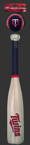 MLB Minnesota Twins Bat and Ball Set