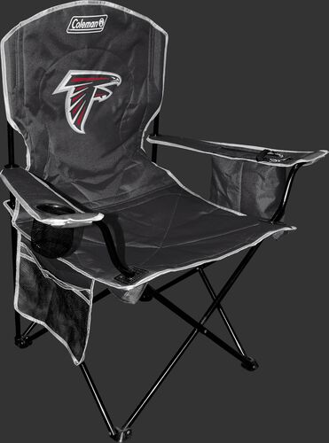 Front of Rawlings Black NFL Atlanta Falcons Cooler Chair With Team Logo SKU #02771060111
